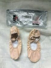 Dance College Ballet Dance Slipper Split-Sole Canvas Shoes US Size 2.5M -(EUR34)