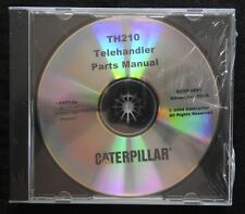 Caterpillar Th210 210 Telehandler Tractor Parts Manual Cd Serp 4091 Mint Sealed