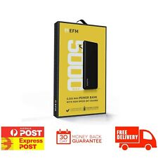 EFM Power Bank Powerbank 5,000 MAH 2.1A HIGH USB Output Device DST NEW