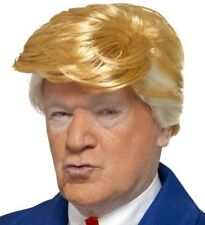 Mens President Donald Trump Wig Fancy Dress Blonde Wig New by Smiffys