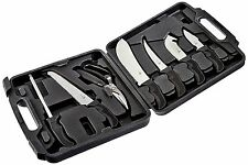BUTCHER KNIVES DRESSING SURVIVAL KNIFE KIT FIELD MEAT HUNTING CAMPING OUTDOOR