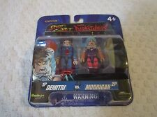 Capcom Street Fighter II Darkstalkers Minimates Demitri & Morrigan 2 Pack