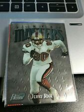 Jerry Rice 1997 Finest silver Embossed #137 49ers! kxv2
