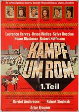 Orig.-Filmplakat: Kampf um Rom 1/Fight for Rome 1968 Orson Welles