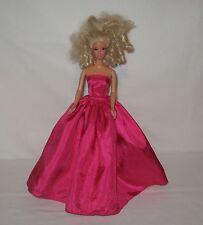 Handmade Hot Pink Silkessence Barbie Dress