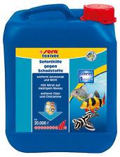 sera toxivec Wasseraufbereiter Schadstoff Entferner 5 Liter  (1 x 5000 ml)