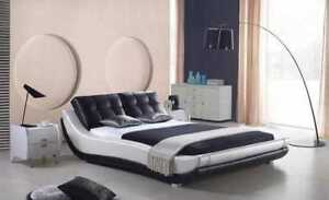 Leather Bed Beds Pads Design 180x200 Double Bed Modern Immediate Available
