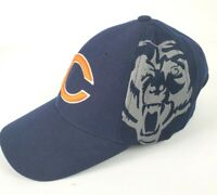 Chicago Bears NFL Adjustable Navy Hat Cap Reebok OSFA
