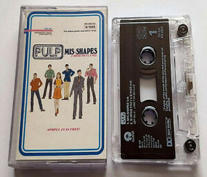 Pulp Mis-Shapes (Cassette Single) - Tested - Island Records - (1995)