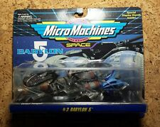 Babylon 5 | Micro Machines Set 3 | 1995 | Sealed | Unopened | No price tag