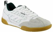 Mens Hitec Squash Classic Casual Lace up Sports Trainers White/green 11 UK Standard