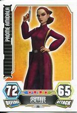 Star Wars Force Attax Series 3 Card #25 Padme Amidala