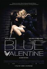 BLUE VALENTINE Movie POSTER 27x40 Ryan Gosling Michelle Williams Faith Wladyka