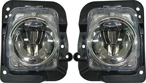 FITS ACURA MDX 2014-2016 LEFT RIGHT FOG LIGHTS DRIVING LAMPS BUMPER W/BULBS PAIR
