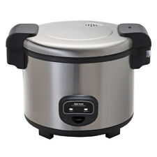 Aroma 60-Cup Stainless Steel Commercial Rice Cooker