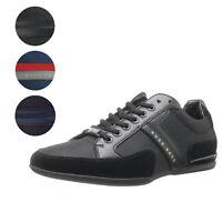Hugo Boss Green Men's Premium Sport Fashion Sneakers Running Shoes Spacit