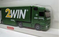 Wiking 1:87 Mercedes Benz Actros Großraumkoffersattelzug OVP 52902  2win Schober