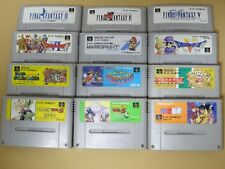 WHOLESALE 10 Lot of 12 Super Mario Bro. World Kirby YuYu Hakusho sfc snes nes