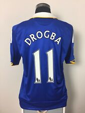 DROGBA #11 Chelsea Home Football Shirt Jersey 2008/09 (L)