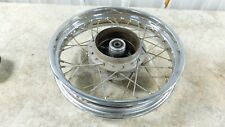 95 Honda CB250 CB 250 Nighthawk rear back wheel rim Straight