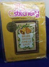 Jiffy Stitchery Kit - Wedding #910 -New