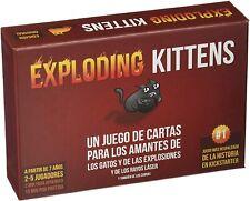 Exploding Kittens. Juego de cartas. A partir de 7 años. 2-5 jugadores