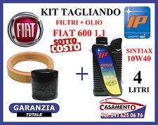 KIT TAGLIANDO OLIO IP SINTIAX 10W40 + FILTRI FIAT 600 SEICENTO 1.1 10/2000---