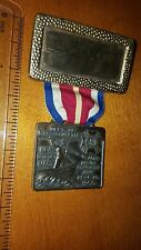 1960 VFW 40TH ANNUAL CONVENTION BRONZE BRASS MEDAL NEW BEDFORD MASSACHUSETTS
