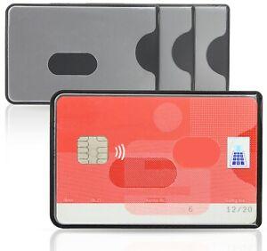 WallTrust RFID NFC Blocker Schutzhülle – Kartenschutzhülle für Kreditkarten