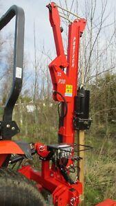 Post Knocker / Driver Hire 4 compact tractors & small farm tractors 180 klo .