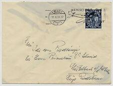 ÖSTERREICH 1938 BRIEF, BENÜTZET DIE FLUGPOST Stempel.