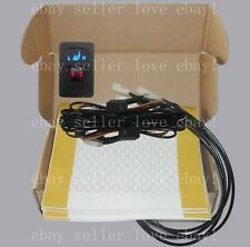 Auto seat heater universal dual dial 5-gear switch,heated seat fit all 12V cars