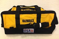 "New Dewalt Tool Bag Heavy Duty Ballistic Nylon 24"" x 12"" x 14"" Made in the USA"