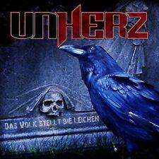 UNHERZ Das Volk Stellt Die Leichen CD Digipack 2017