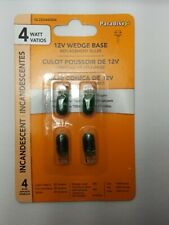 Paradise 4W Green Replacement Incandescent Bulb 12V Wedge Base (N5)