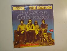 """DEREK & DOMINOS:(Eric Clapton)Why Does Love Got To Be So Sad-Germany 7"""" RSO PSL"""