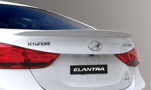 REAR TRUNK SPOILER ABS FOR ELANTRA 2012-2015 Unpainted