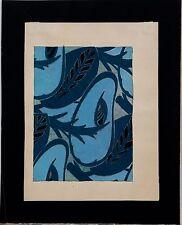Georges de Feure/ Gouache auf Papier/ Entwurf für einen Dekorationsstoff um 19 H