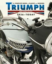 New Sealed Complete Book Of Classic And Modern Triumph Motorcycles 1937-Today