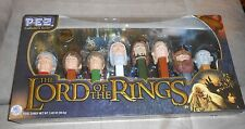 Pez Collectors Series The Lord Of The Rings - 8 pc. Set - Brand NEW, Boxed