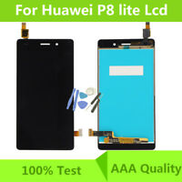 For Huawei P8 Lite LCD Display Touch Screen Digitizer Replacement Assembly Black