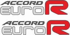Accord CL7 CL9 K20 LA Euro R 200mm decals stickers JDM EDM  Euro-R