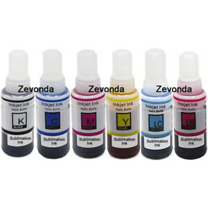 Dye Sublimation Ink for Epson Printer CISS Refill Cartridge Heat Transfer 100ml