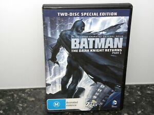 Batman: The Dark Knight Returns, Part 1 - DVD - VGC - REGION 4