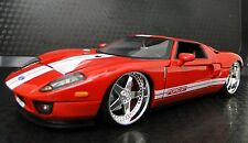 GT Ford GT40 Race Exotic Sport Car 1 24 Metal Diecast Model 12 Carousel Red 18