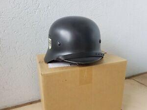 German WW2 M35 ET68 DD Black Elite Helmet