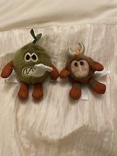The Disney Store Moana - Kakamora Pair Of Plush Soft Toy