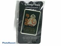 Disney Pin Parks Star Wars the Force Awakens Release Day BB-8 Badge NEW SEALED