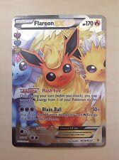 Pokémon Flareon ex full tipo XY generación rc28/rc32 TCG inglés, rara vez!