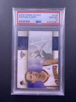 2009-10 Panini Studio Stephen Curry RC Card #129 Rookie PSA 10 Gem Mint!